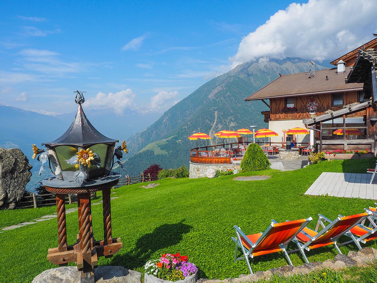 Meraner Höhenweg Wandern - Gasthof-Linthof