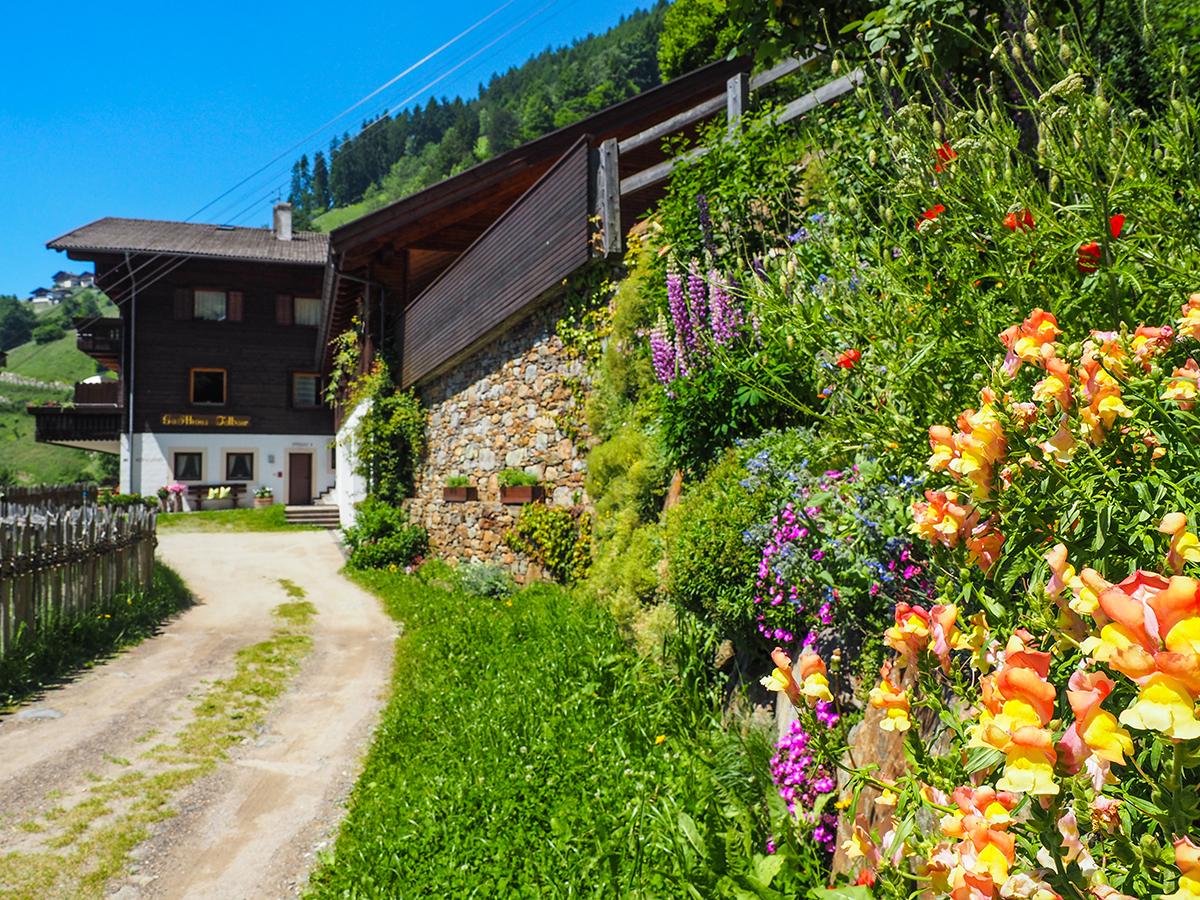 Meraner Höhenweg Wandern Magdfeld - Hochmuth, Gasthof Talbauer