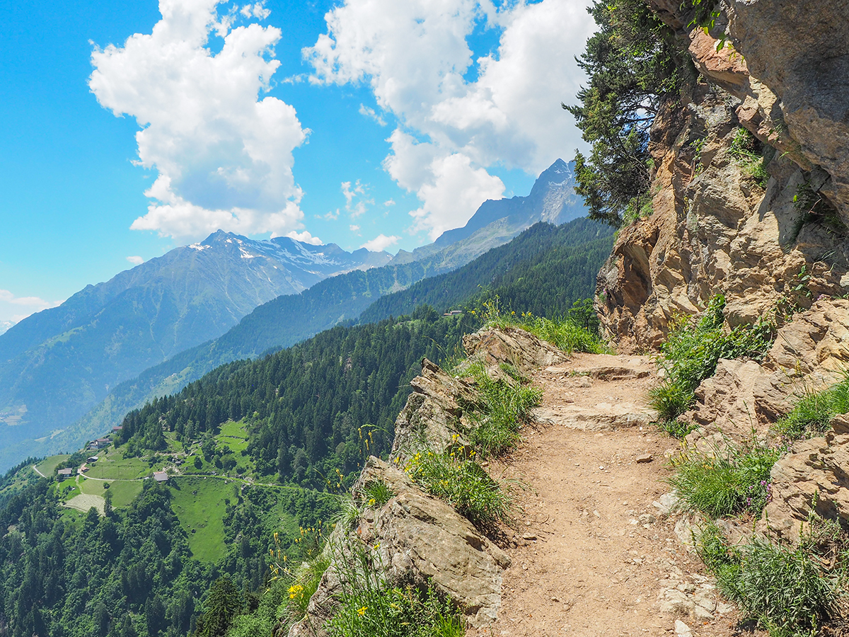 Meraner Höhenweg - Wandern zwischen Hochmuth und Giggelberg