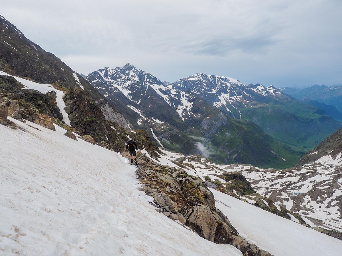 Meraner Höhenweg Wandern - Stettiner Hütte - Pfelders