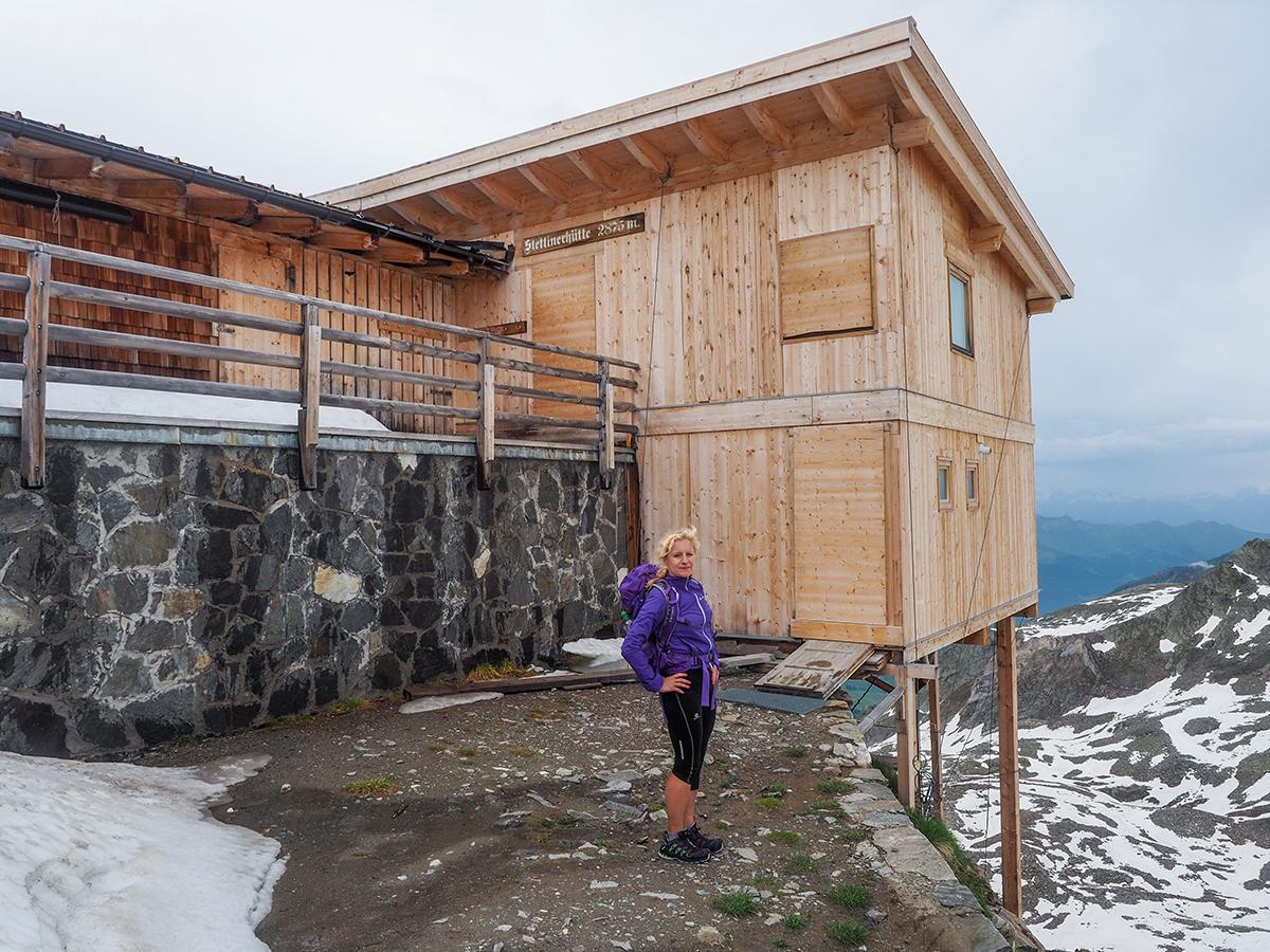 Meraner Höhenweg Wandern - Stettiner Hütte
