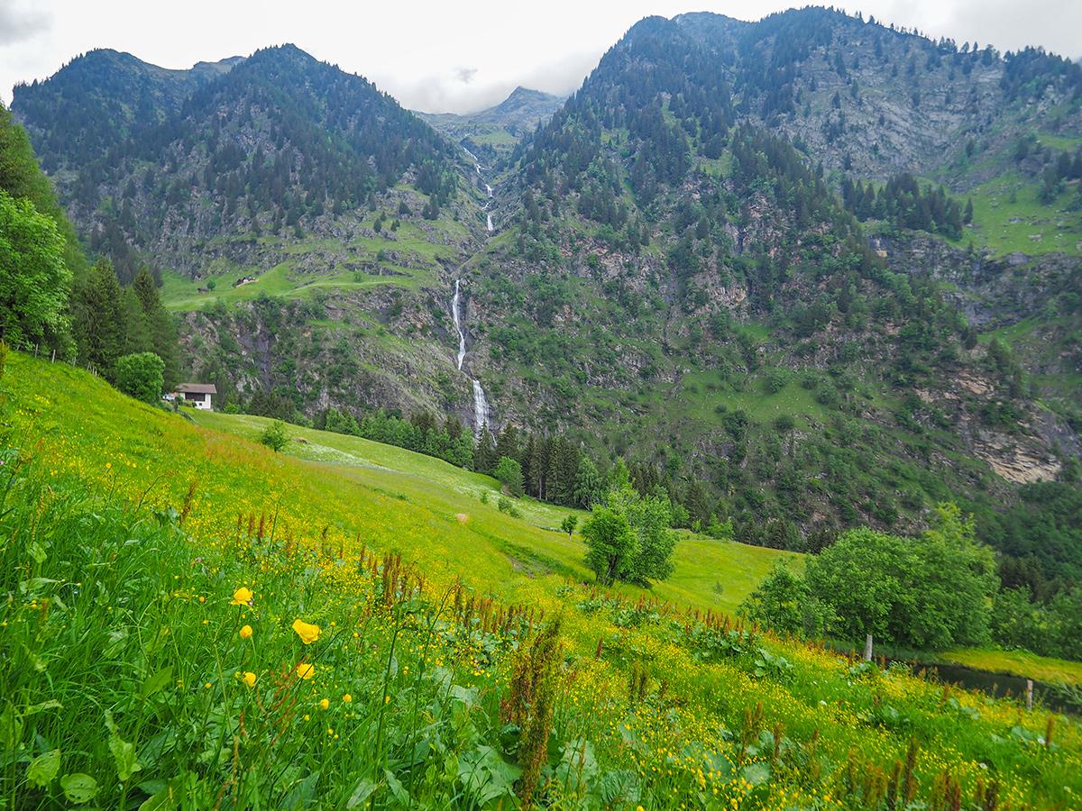 Passeiertal Wandern - Rappenhöfe, Wasserfall