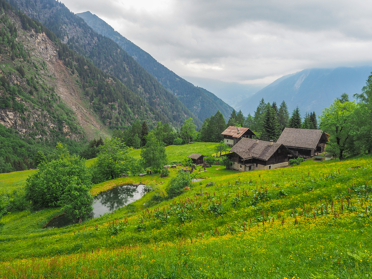 Passeiertal Wandern - Rappenhöfe