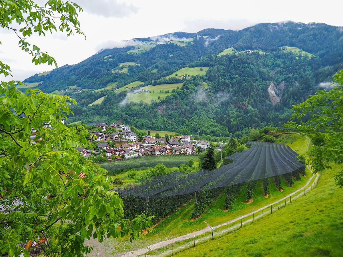 Passeiertal Wandern - Saltaus, Ausblick