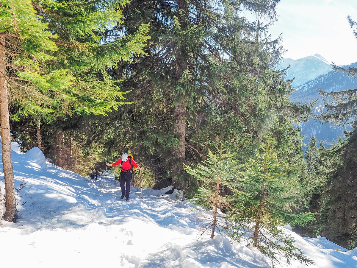 Wanderurlaub im Winter in Bayern im Oberallgäu