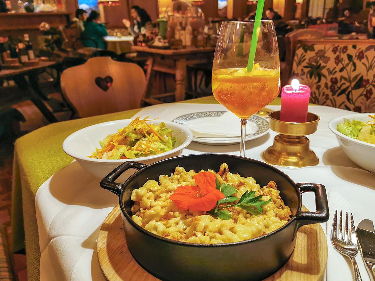 Weitwandern Chiemsee - Adria, Heiligenblut Restaurant