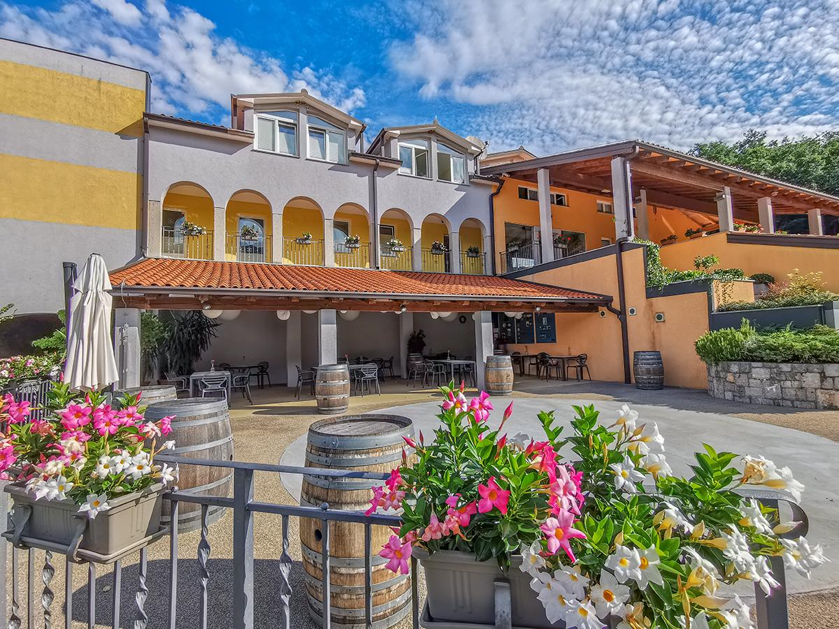 Weitwandern Chiemsee - Adria, Hotel Hisa Posebne Sorte in Kordeti Slowenien
