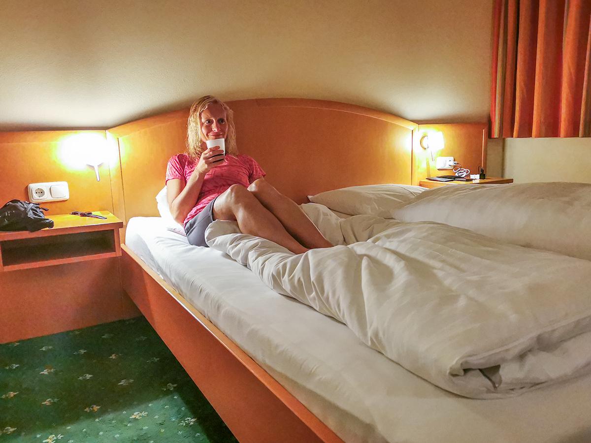 Weitwandern Chiemsee - Adria, Hotel Lukasmayr in Bruck an der Großglocknerstraße