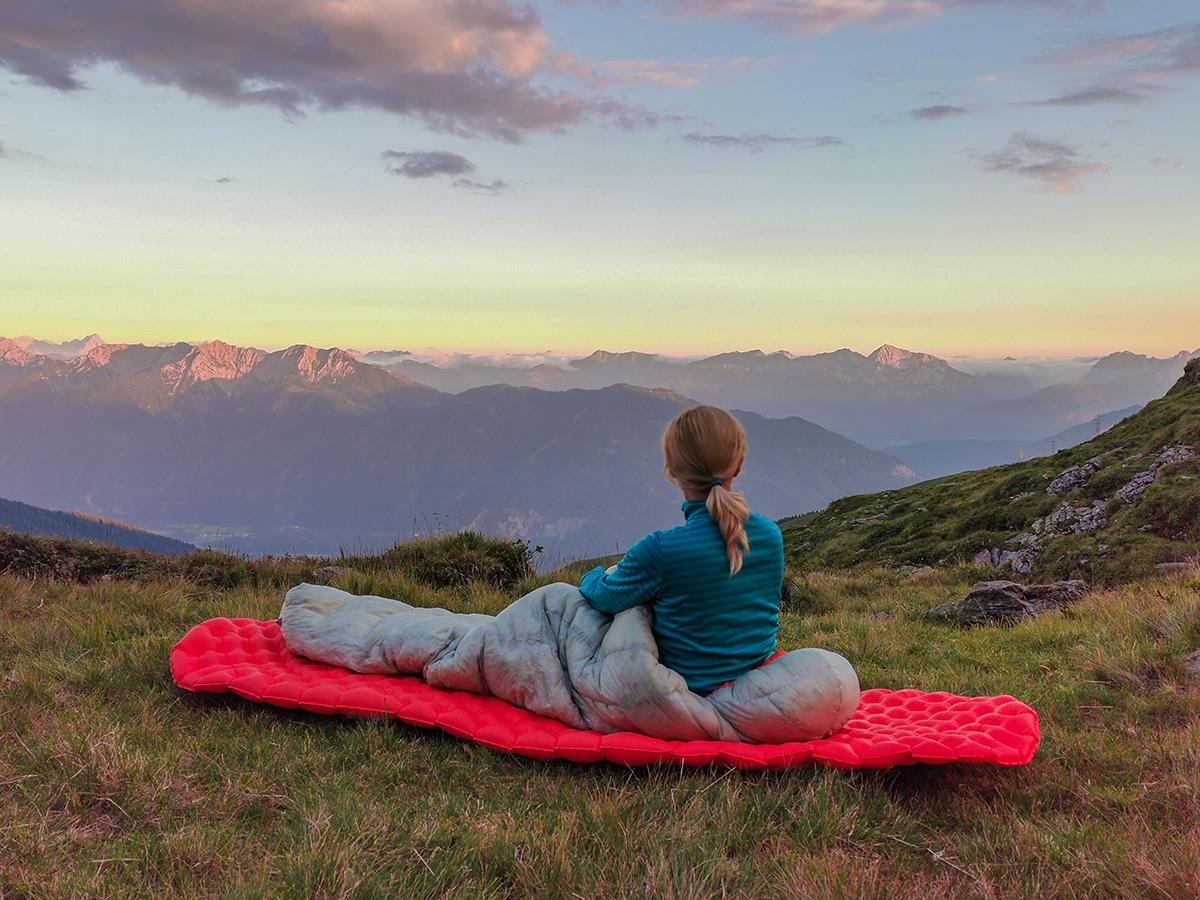 Weitwandern Chiemsee - Adria, Saalachtaler Höhenweg Notbiwak