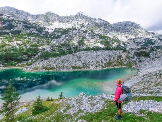 Weitwandern vom Chiemsee zur Adria - Sieben-Seen-Tal in Slowenien