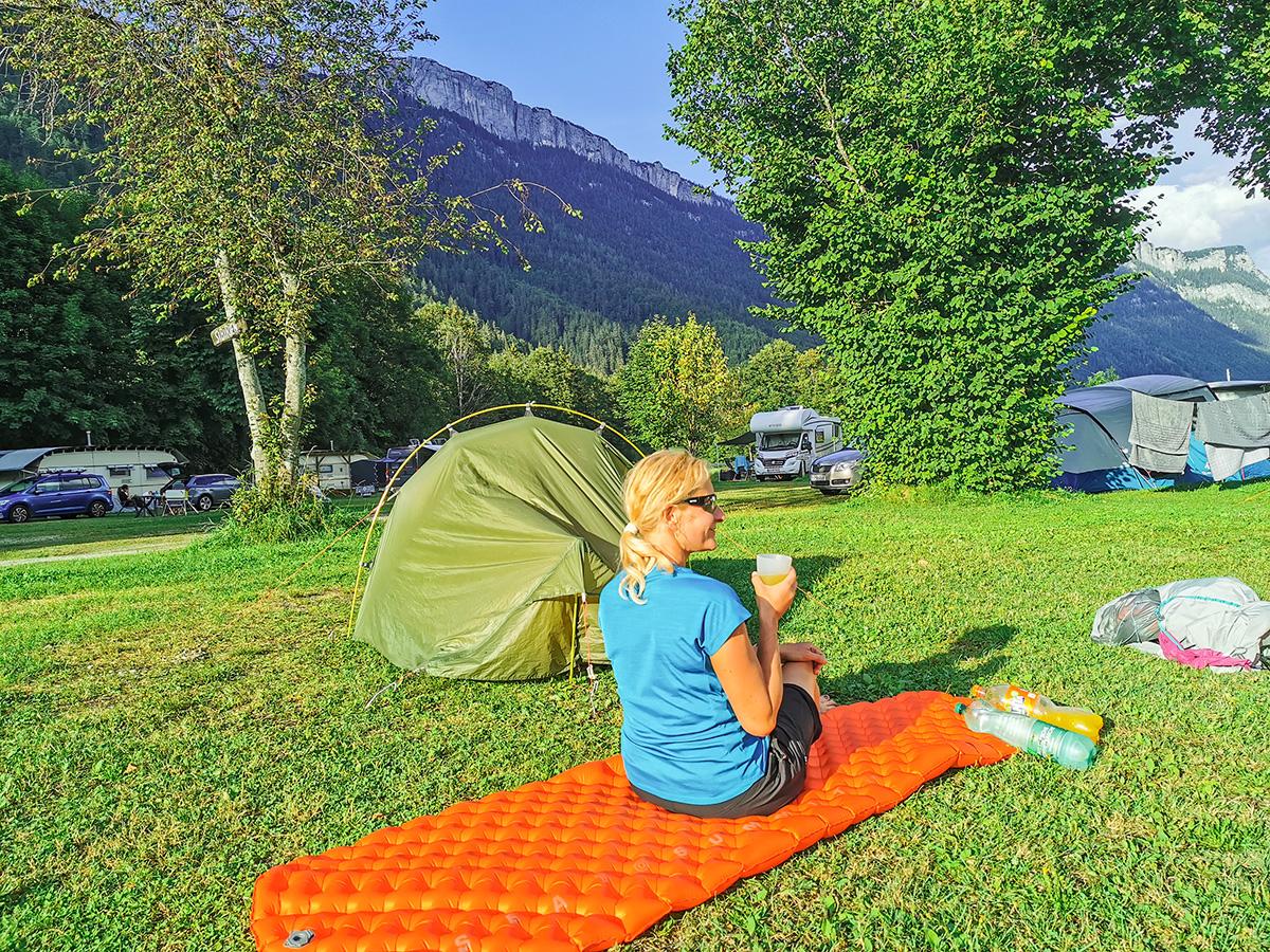 Weitwandern Chiemsee - Adria, Waidring Campingplatz