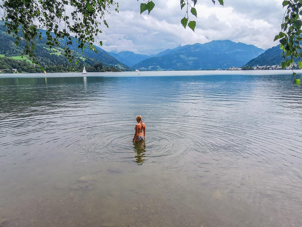 Weitwandern vom Chiemsee zur Adria - Zellersee