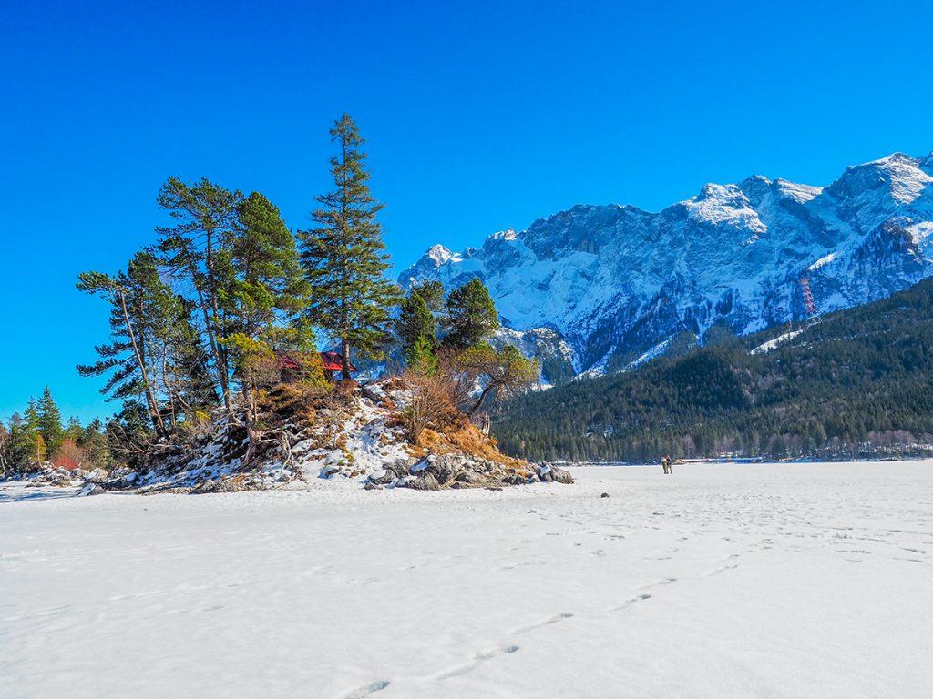 Winterurlaub in Bayern - Eibsee