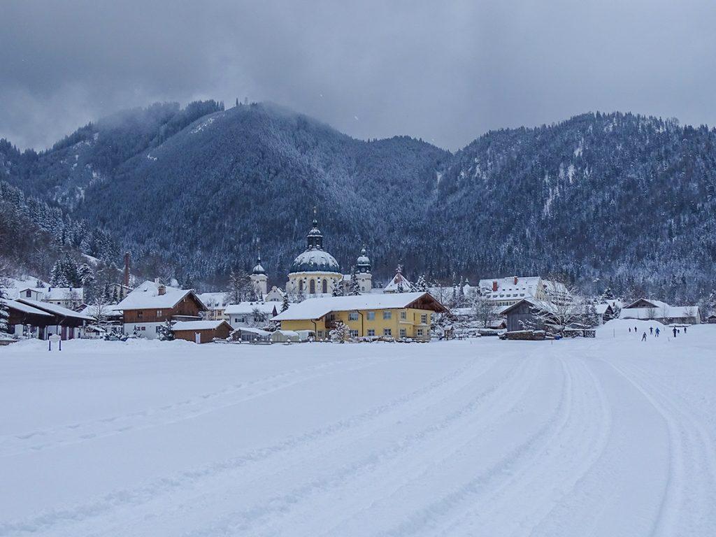 Winterurlaub in Bayern - Langlaufen in Ettal