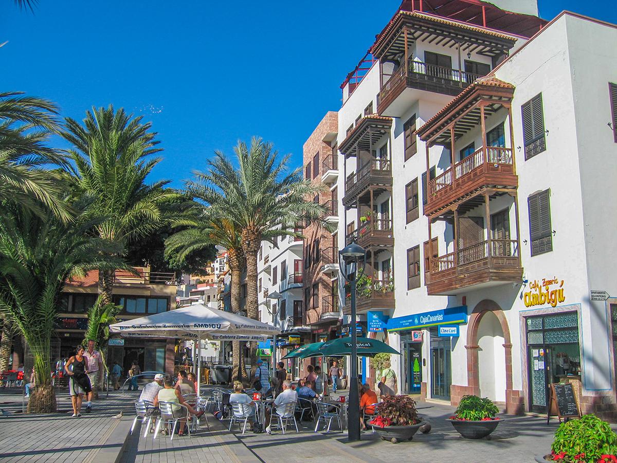 Ausflug San Sebastian de La Gomera - Altstadt