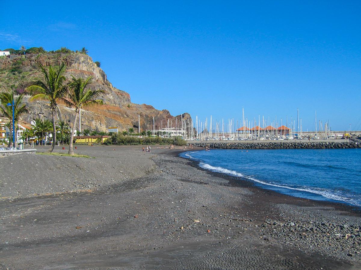 Ausflug San Sebastian de La Gomera, Strand