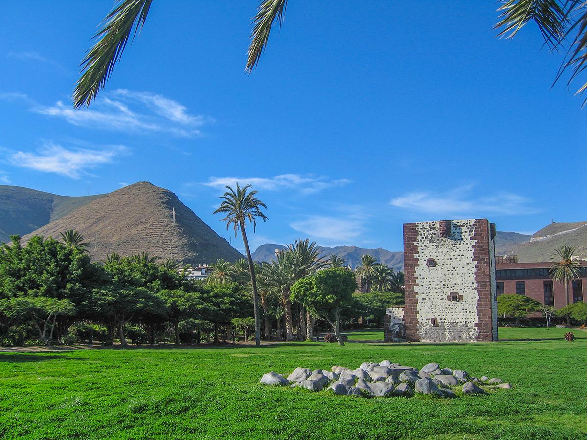 Teneriffa Ausflug - San Sebastian de La Gomera, Turm