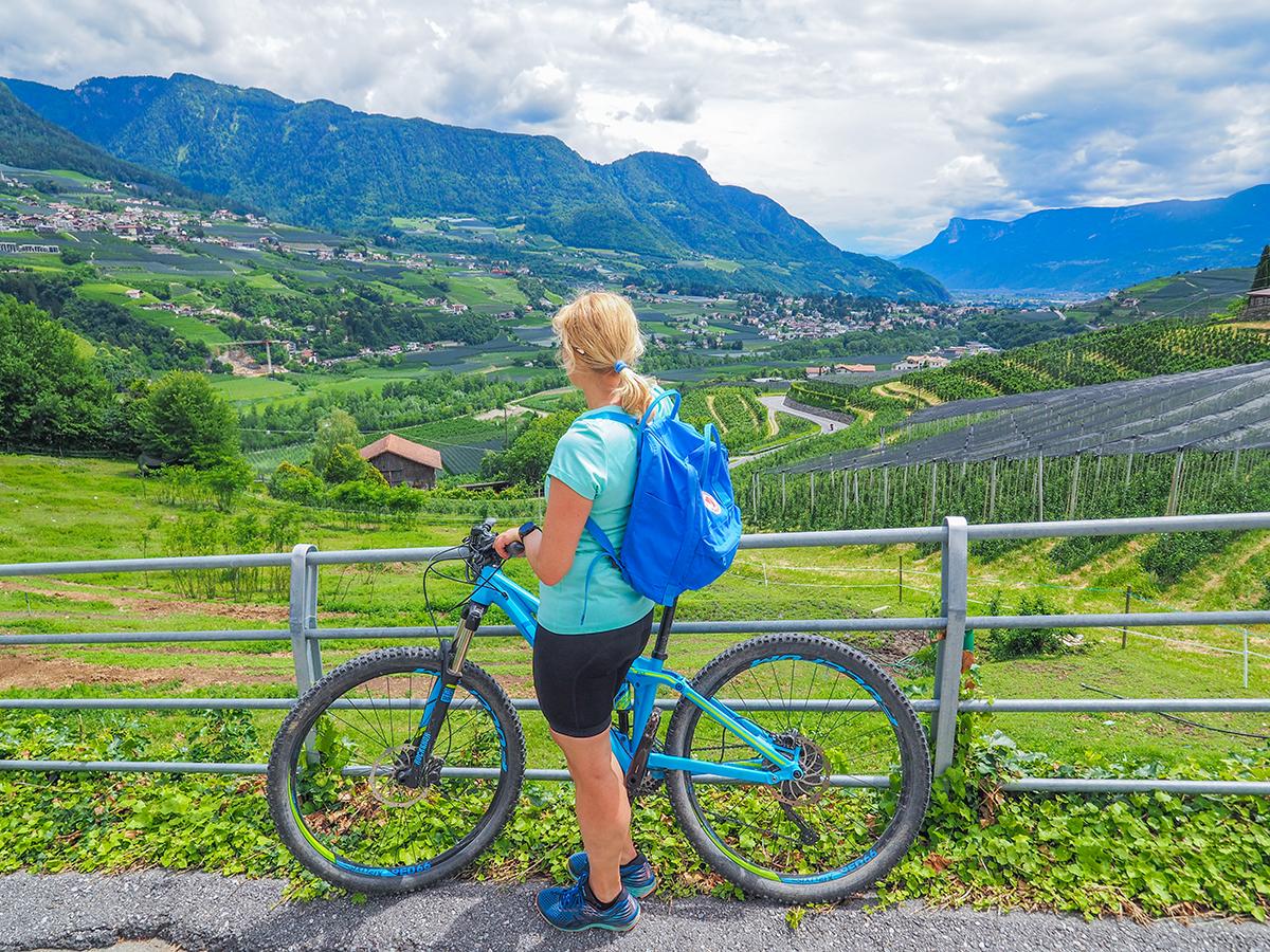 Passeiertal - Radfahren Dorf Tirol