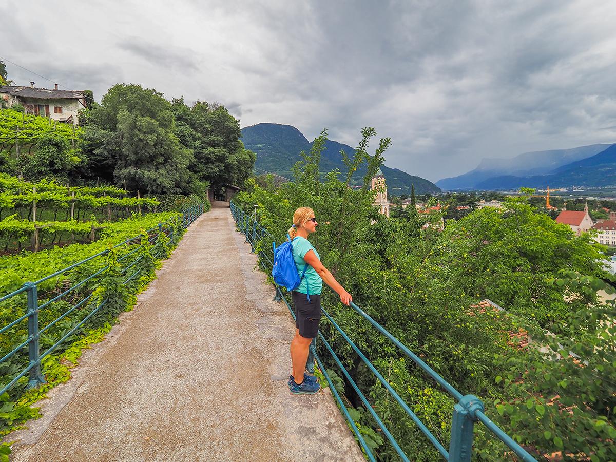 Passeiertal - Radfahren & Wandern, Tappeinerweg in Meran