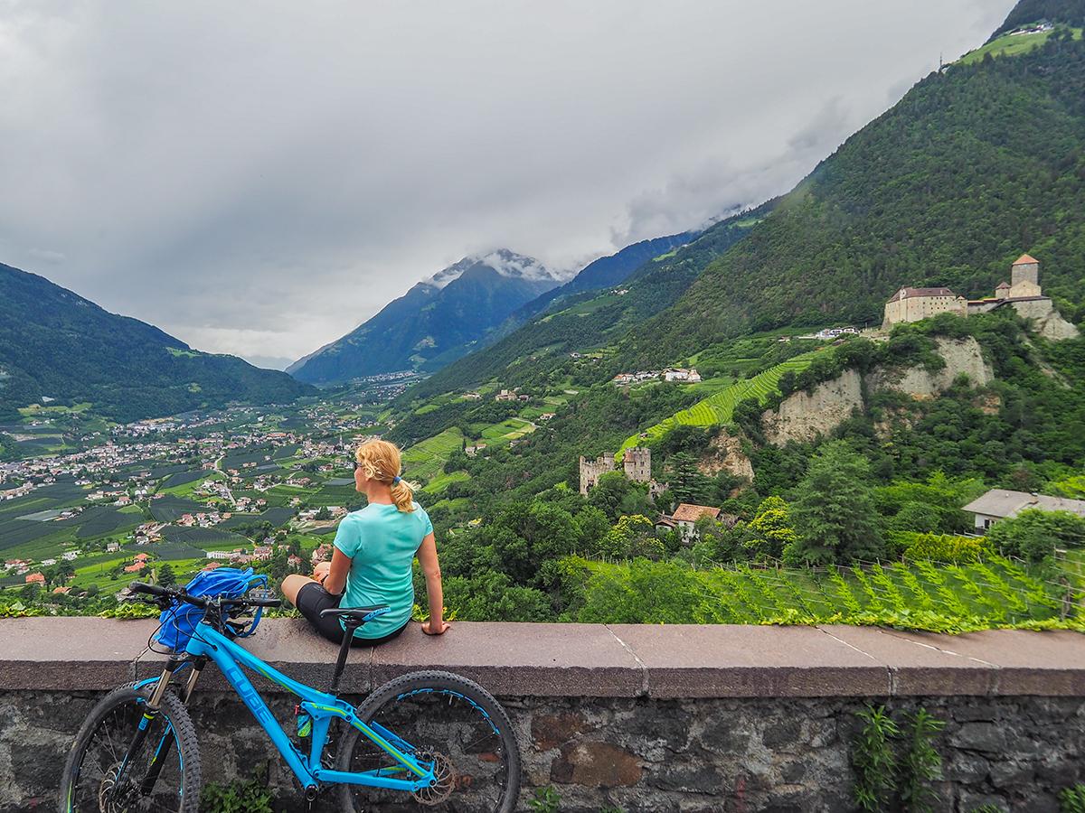 Passeiertal - Radtour Dorf Tirol