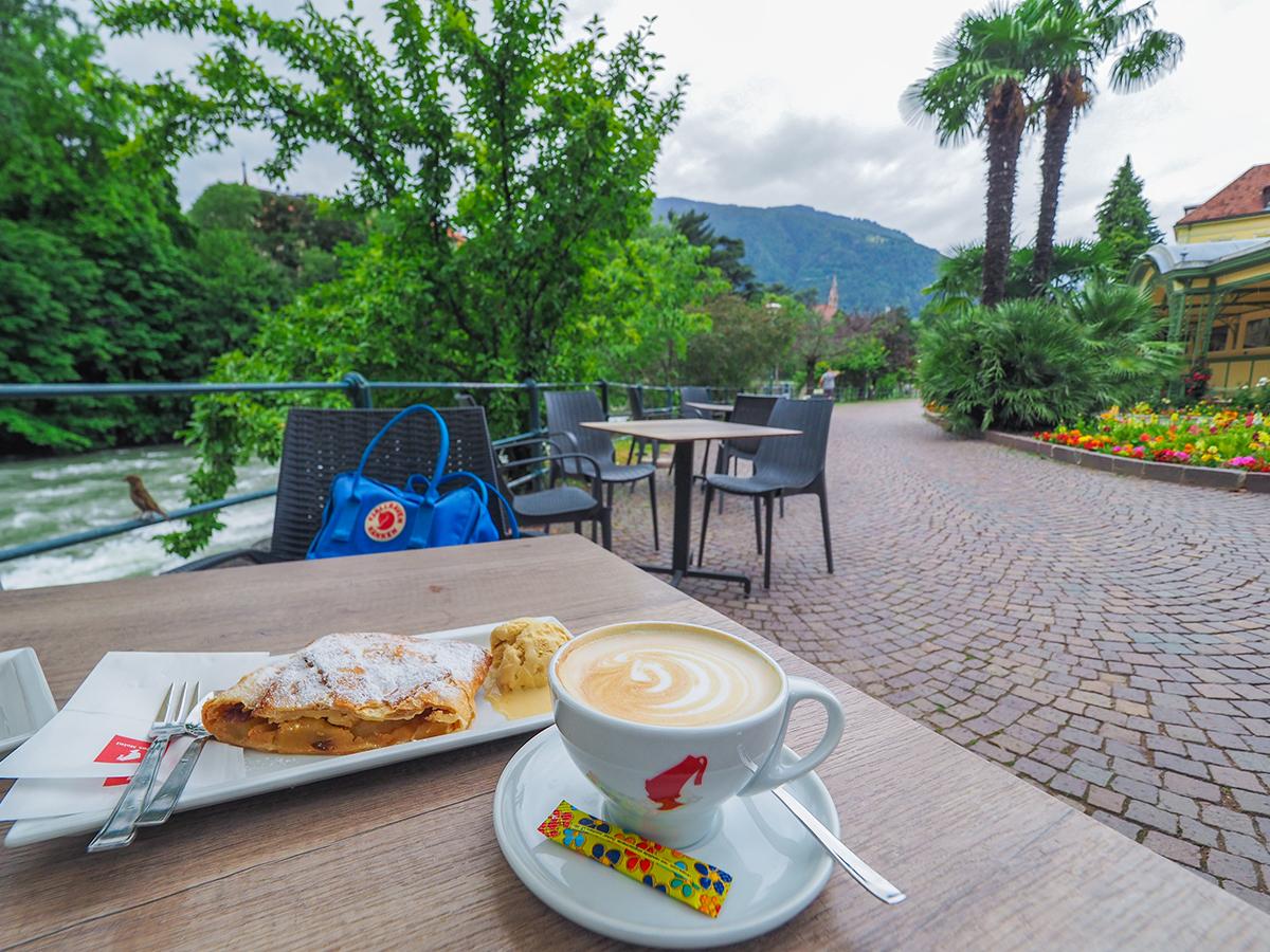 Passeiertal - Radtour Meran, Café