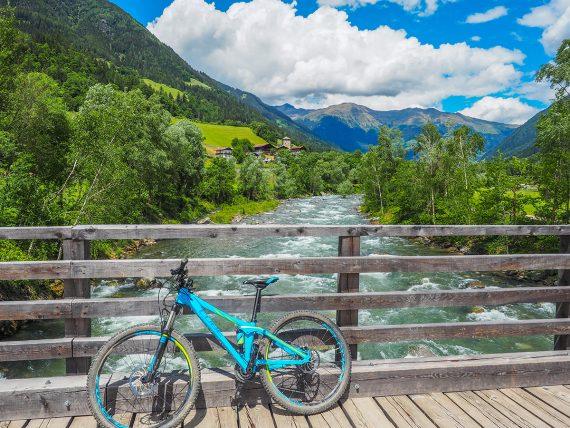 Passeiertal Radtour von Meran nach St. Leonhard, Passer