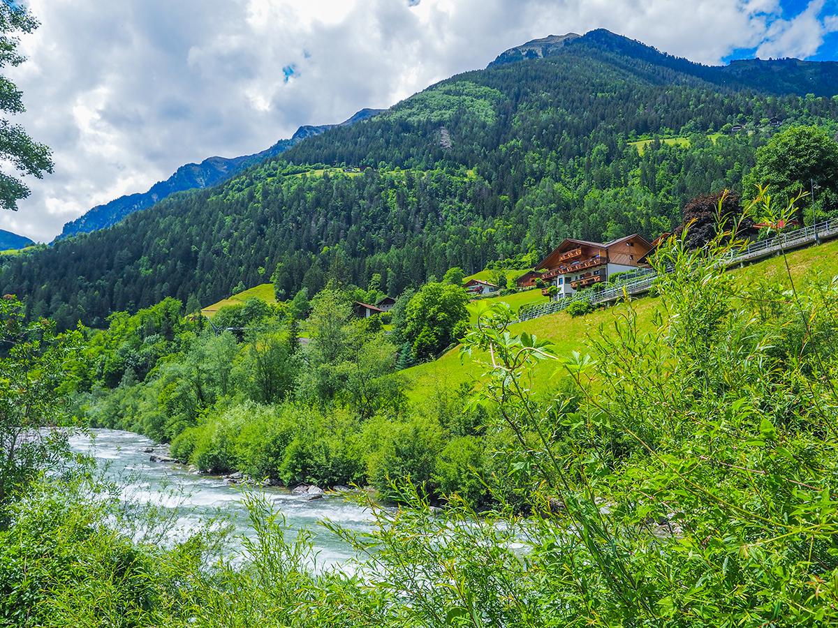 Passeiertal - Radtour von Saltaus nach St. Leonhard
