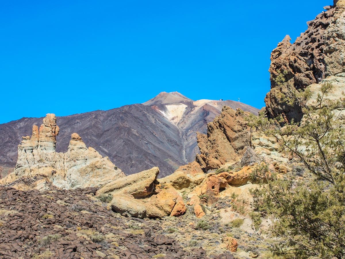 Pico del Teide Wandern - Los Roques de Garcia