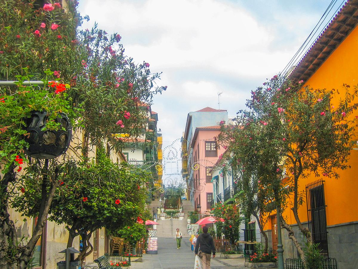 Puerto  de la Cruz - Altstadt