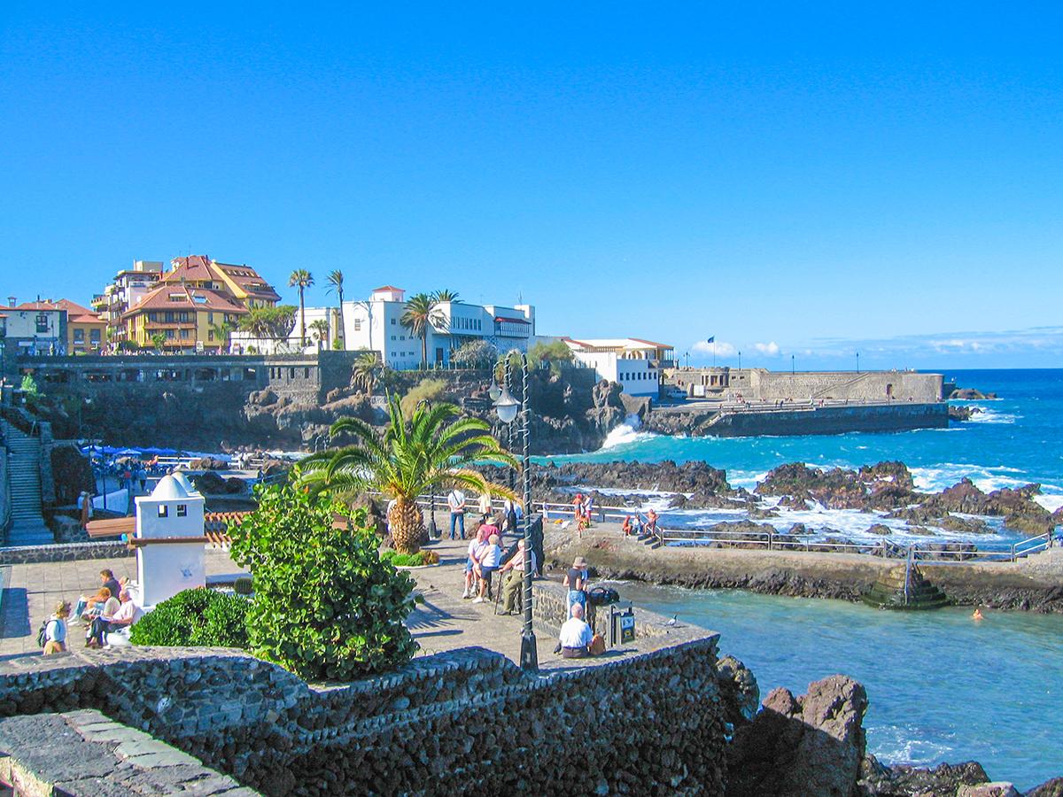 Puerto de la Cruz - Promenade