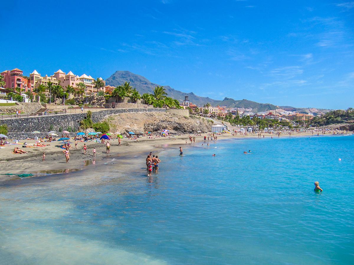 Teneriffa - Costa Adeje, Playa del Duque