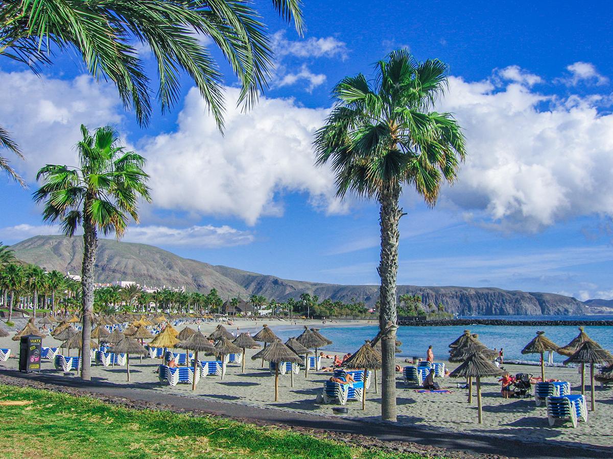 Teneriffa Playa de las Americas, Playa del Camison