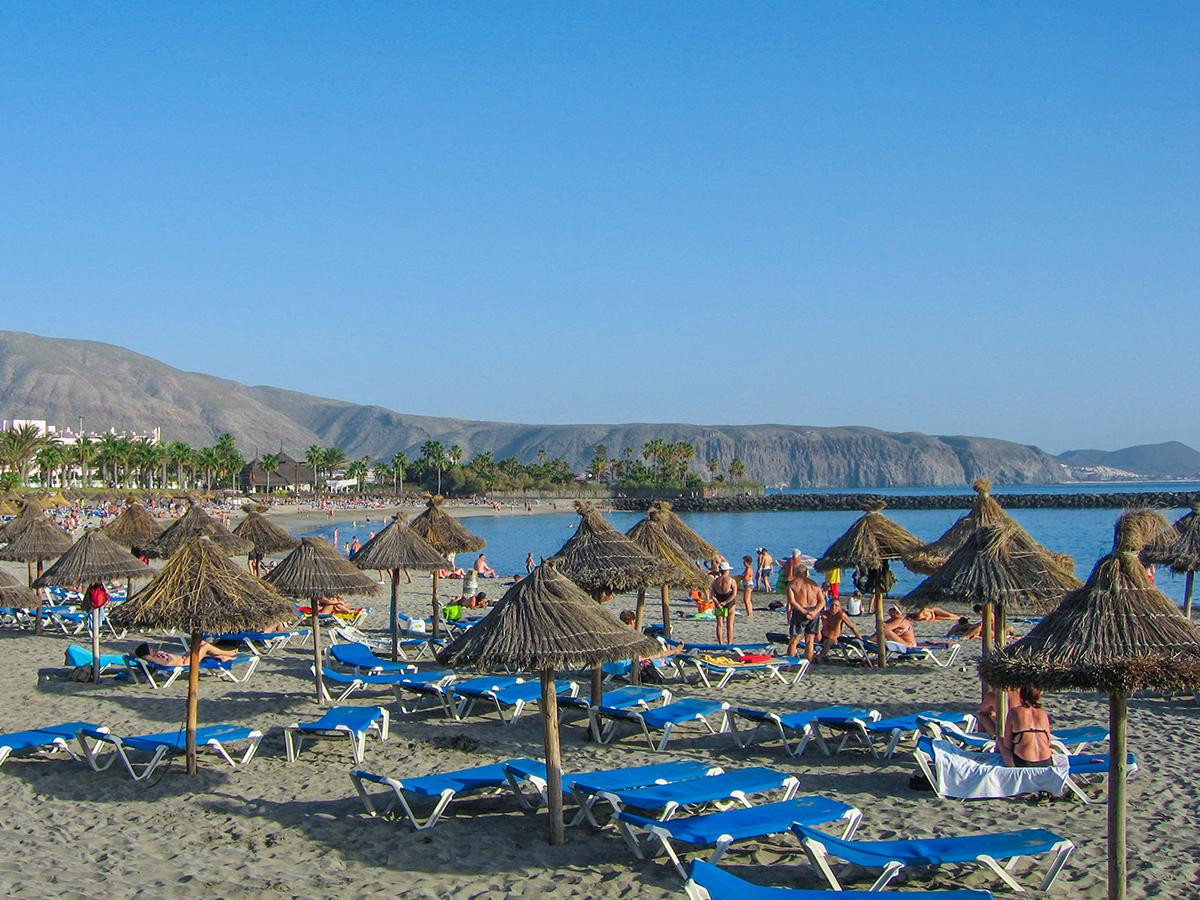 Teneriffa - Playa de las Americas, Playa del Camison