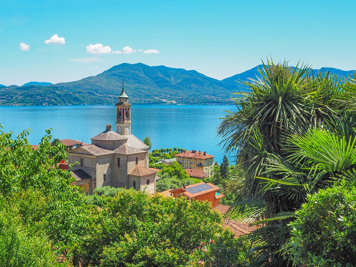 Wandern Lago Maggiore, Riviera Cannero - Cima di Morissolo