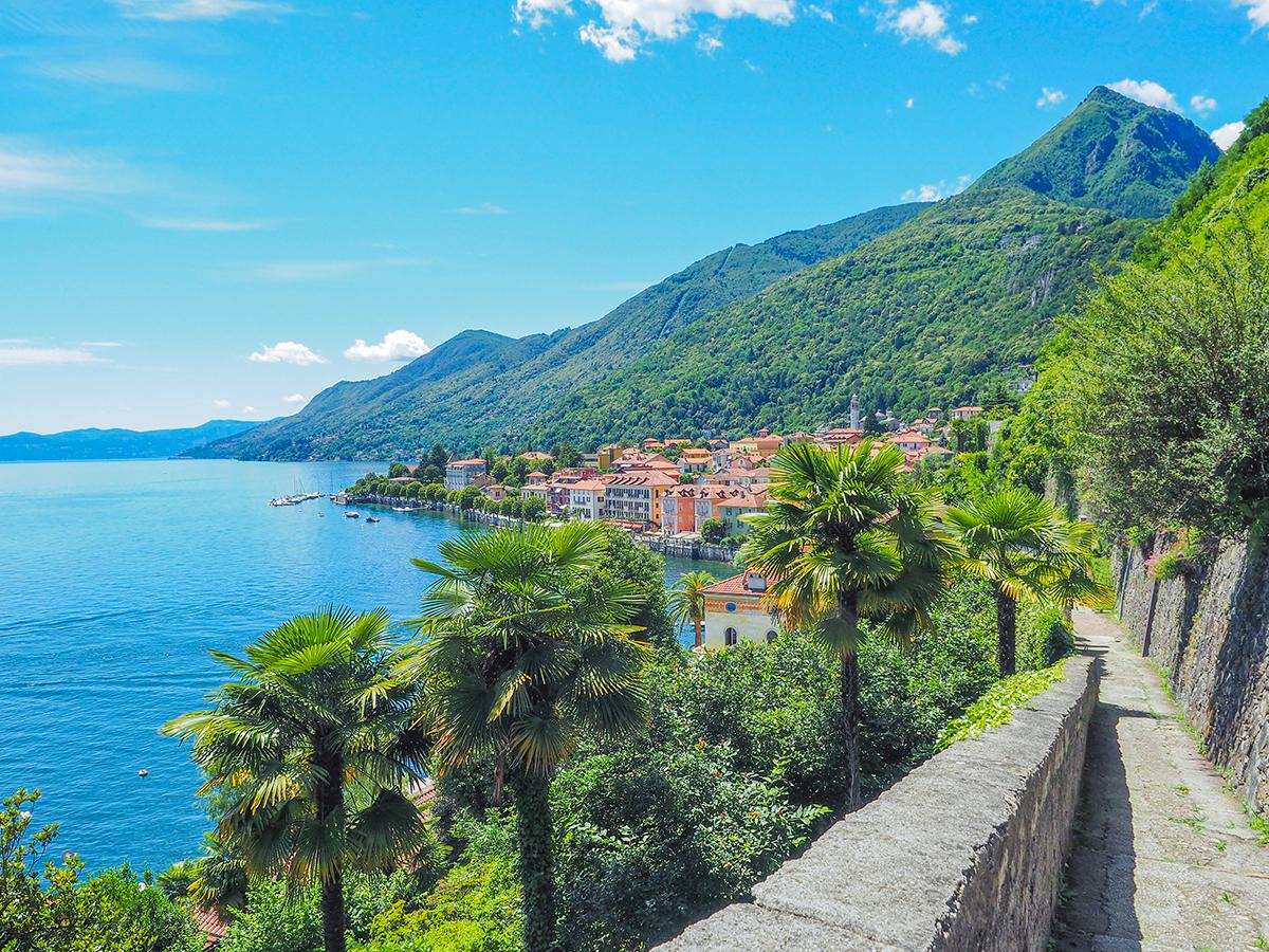 Wandern am Lago Maggiore von Riviera Cannero - Cima di Morrisolo