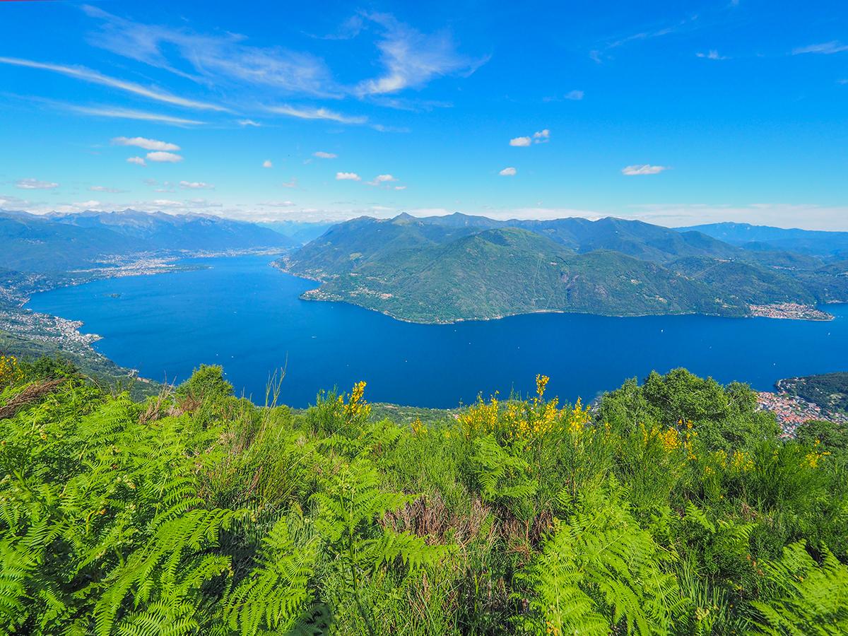 Wandern Lago Maggiore, Cannobio - Monte Giove
