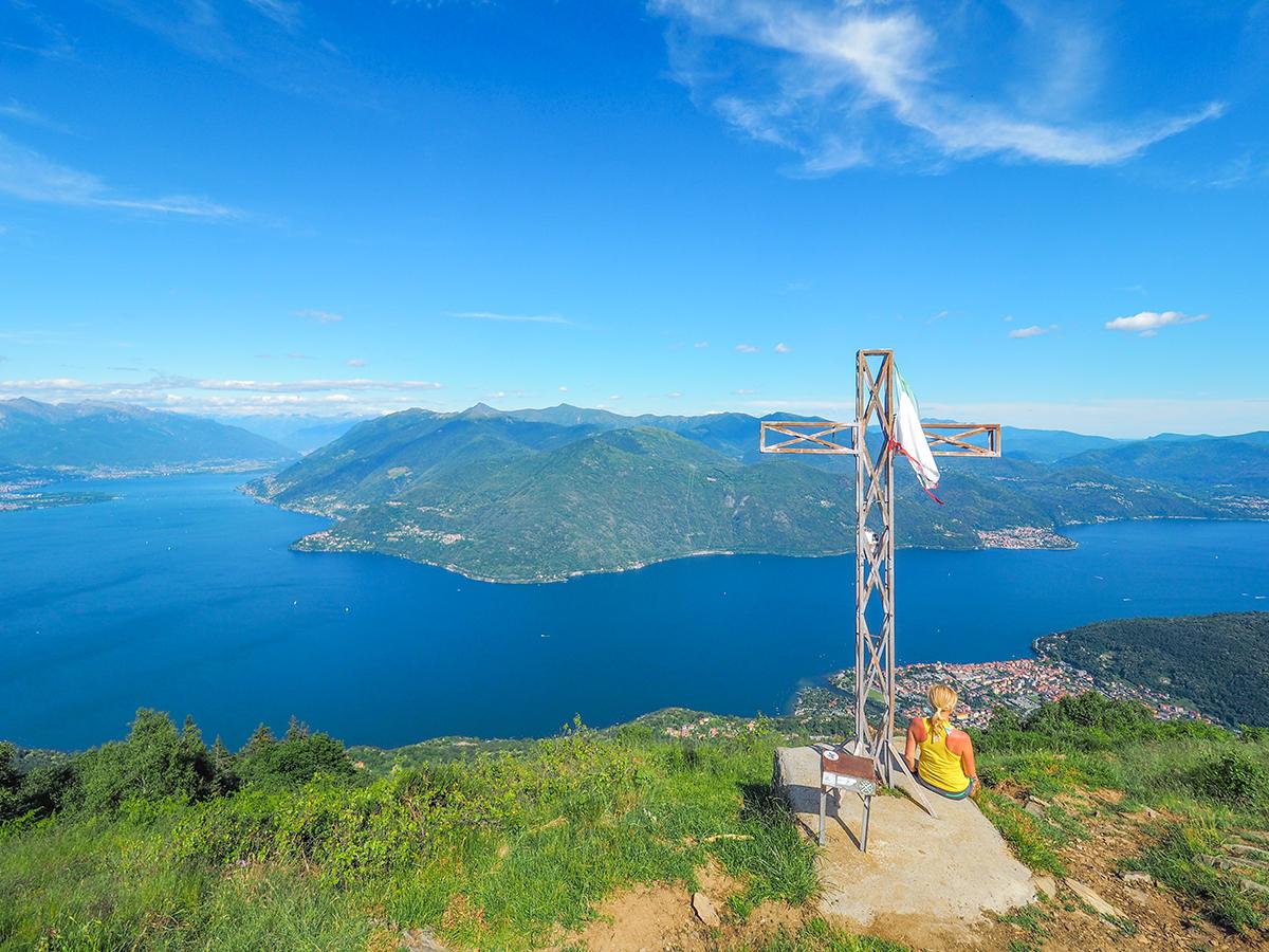 Wandern am Lago Maggiore, Cannobio - Monte Giove