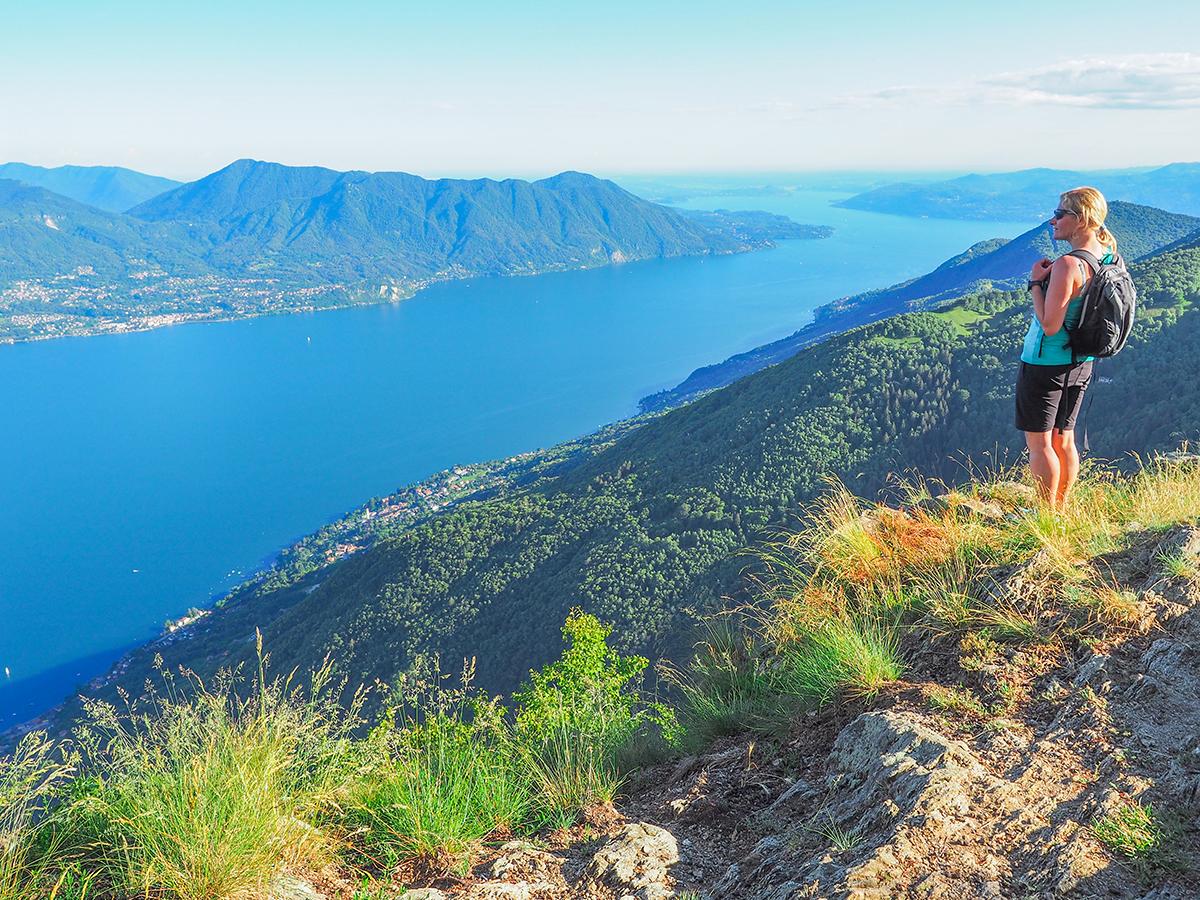 Wandern am Lago Maggiore - Cima di Morrisolo