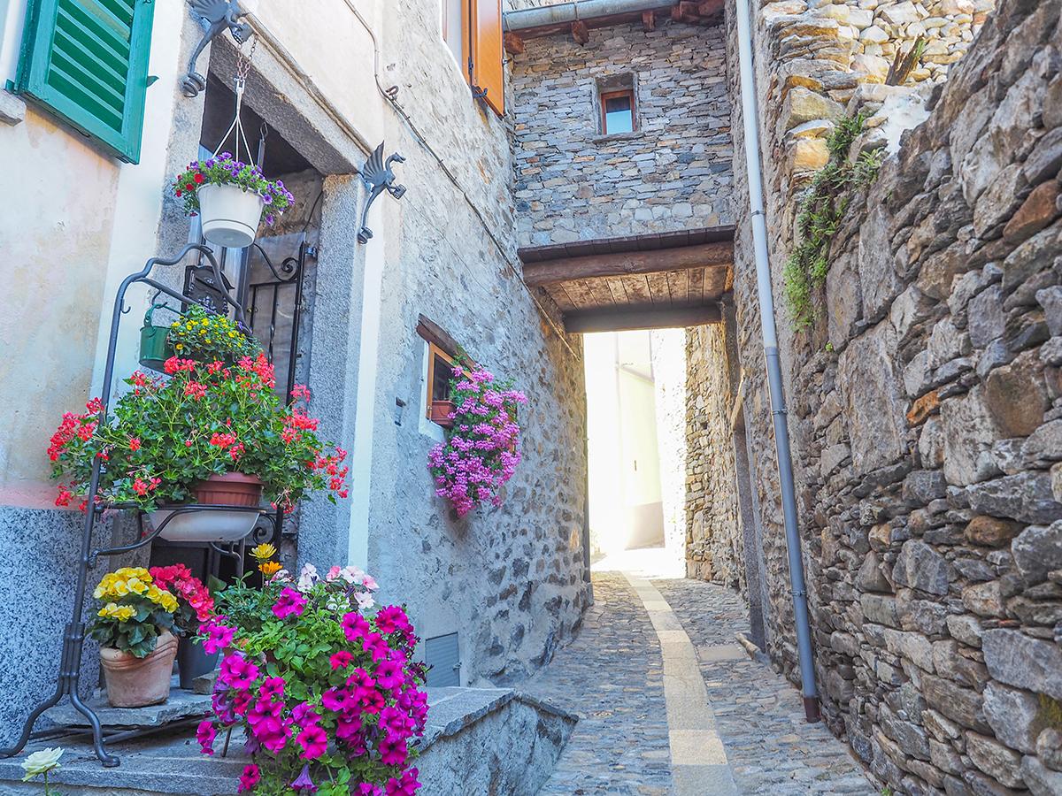 Wandern Lago Maggiore, Oggiogno- Cima di Morissolo