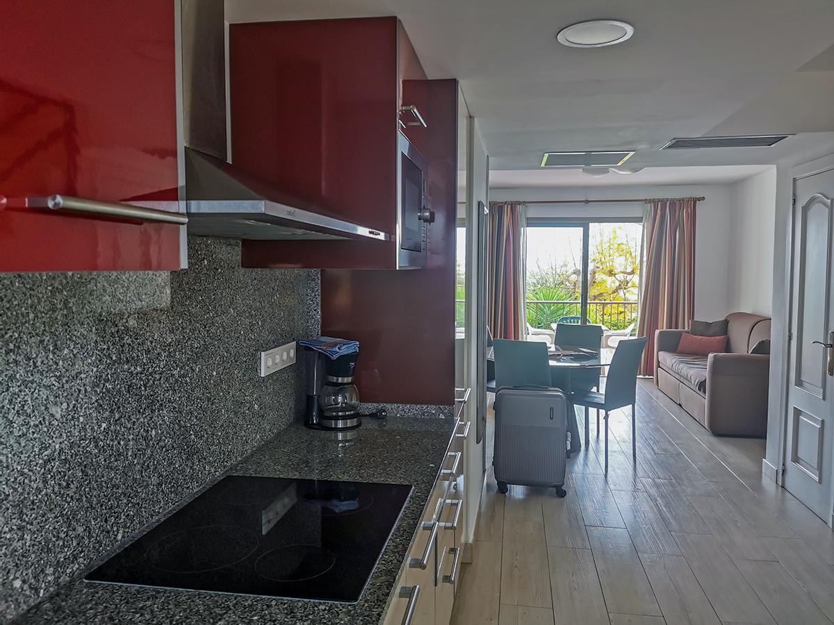 Alcudia - Ferienwohnung Ona Aucanada, Wohnraum & Küche
