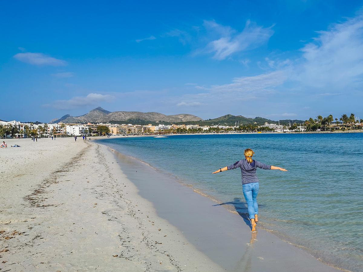 Port d'Alcudia - Strand