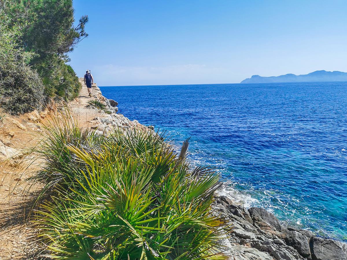 Mallorca Wandern - Alcanada - Platja des Coll Baix, Wanderweg