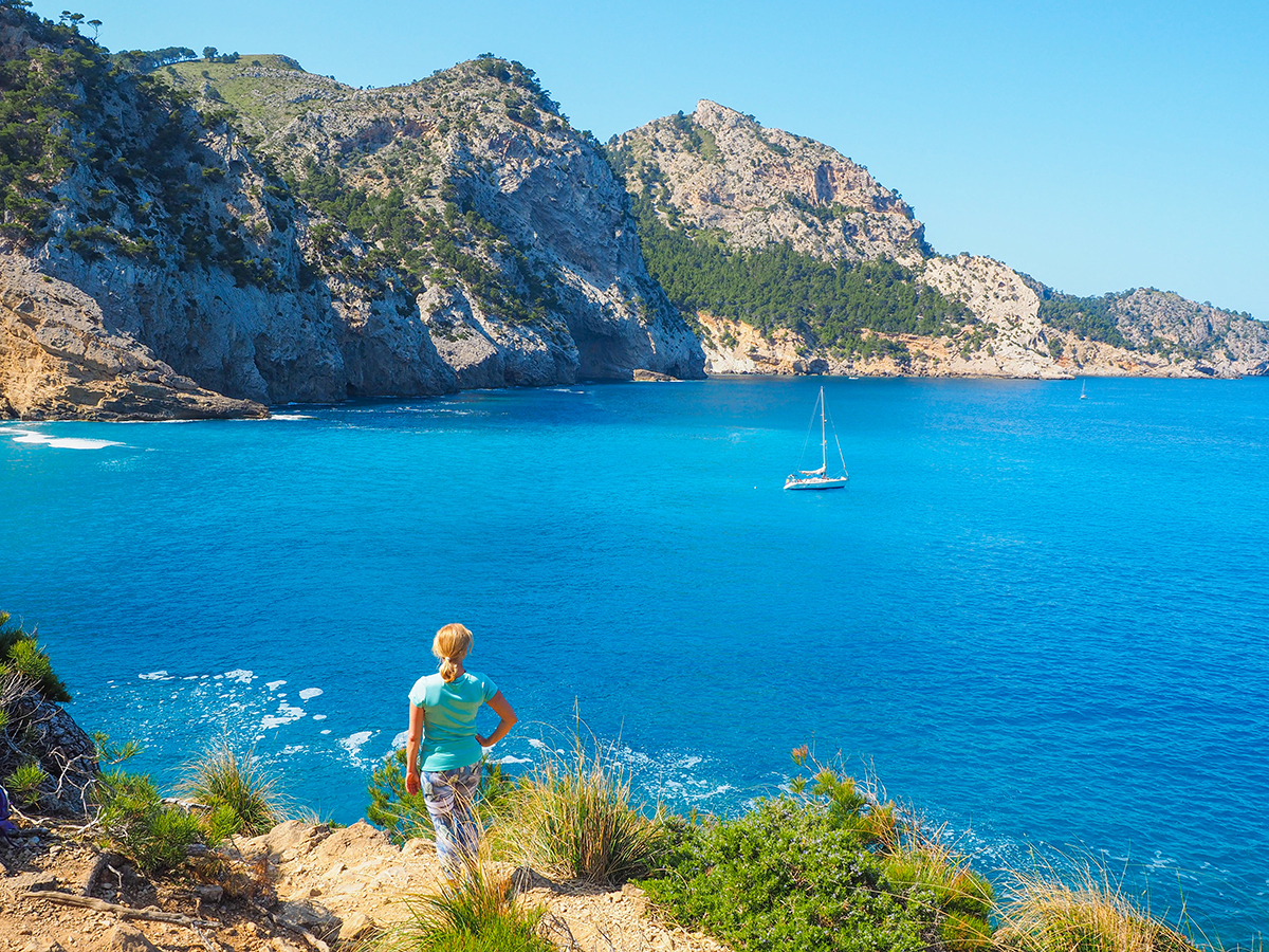 Mallorca Wandern - Platja des Coll Baix