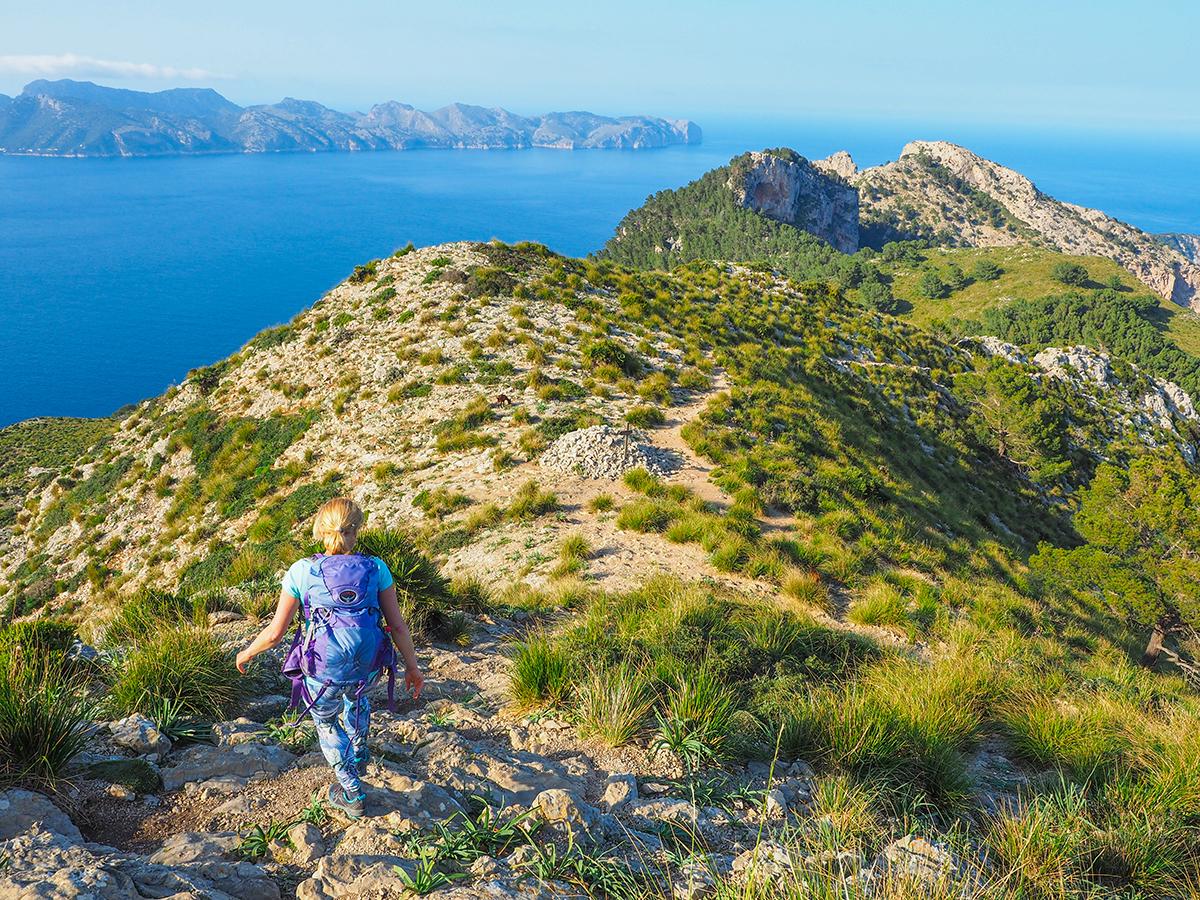 Mallorca Wandern - Alcudia - Talaia d'Alcudia