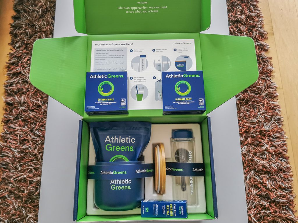Athletic Greens - Bestellung