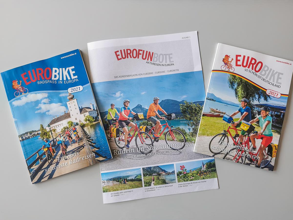 Eurobike Radreisen - Kataloge