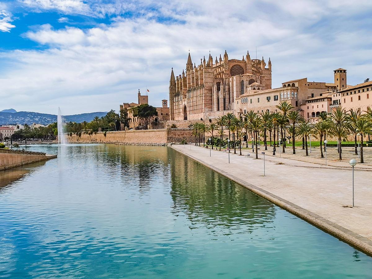Mallorca Radreise - Palma de Mallorca, Kathedrale