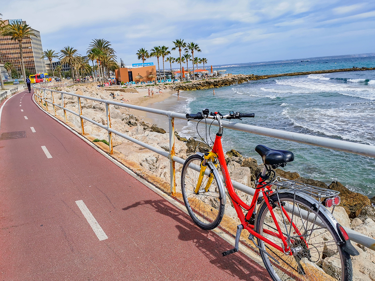 Mallorca Radreise - Palma de Mallorca, Küste