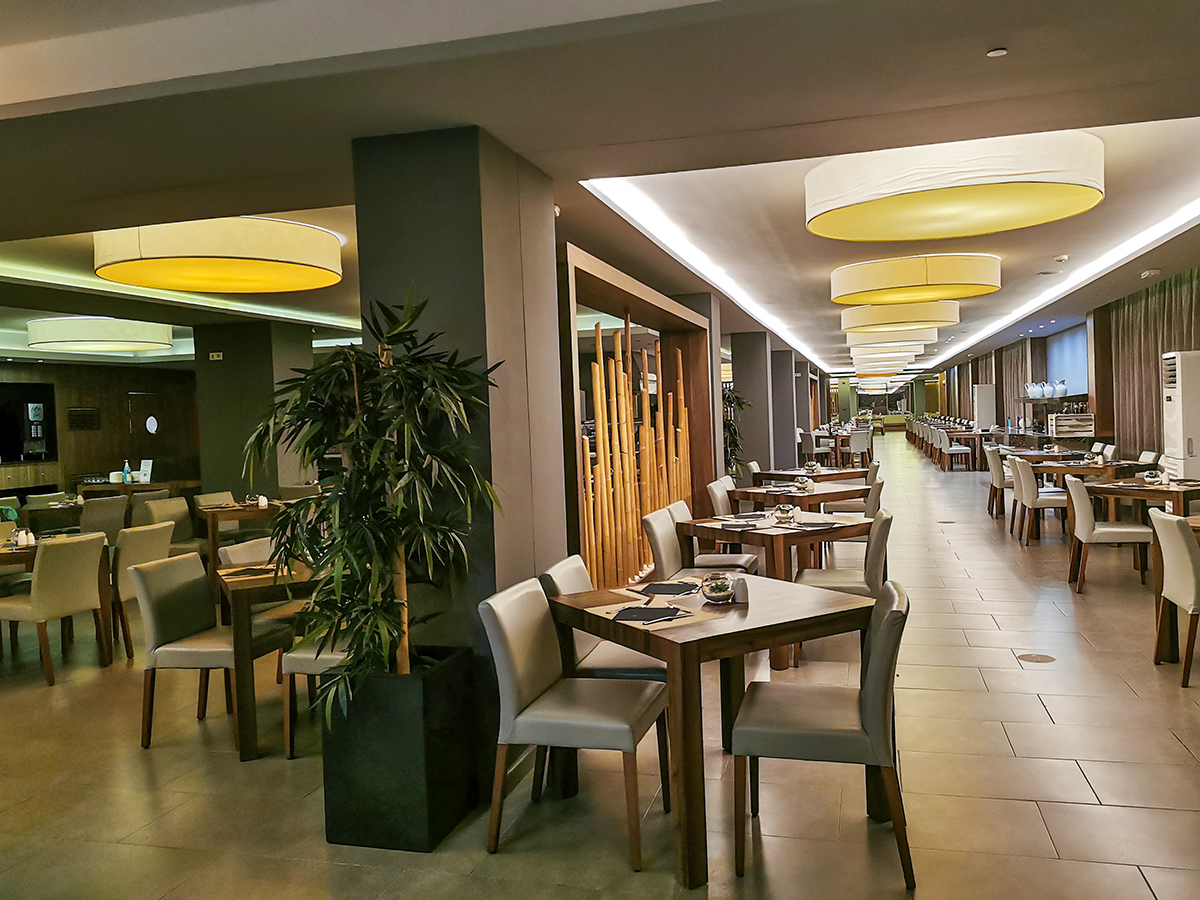 Mallorca Radreise - Hotel Caballero, Restaurant