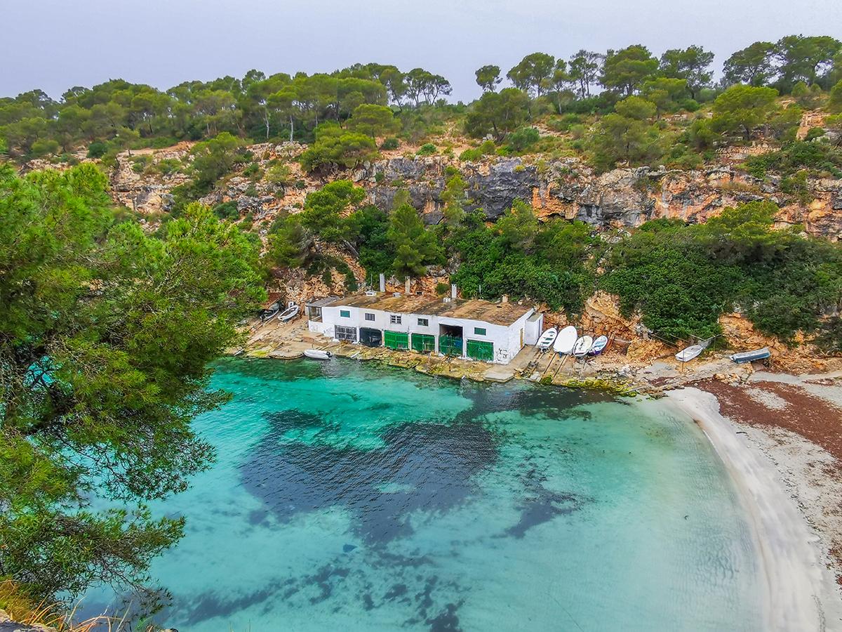 Mallorca Radreise - Cala Pi